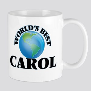 World's Best Carol Mugs