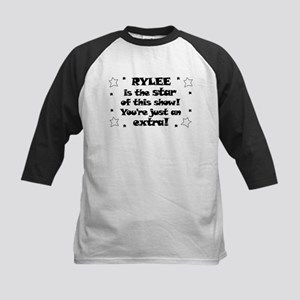 Rylee is the Star Kids Baseball Jersey