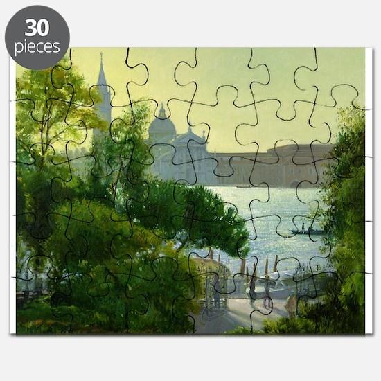 San Giorgio, Venice (oil on canvas) - Puzzle
