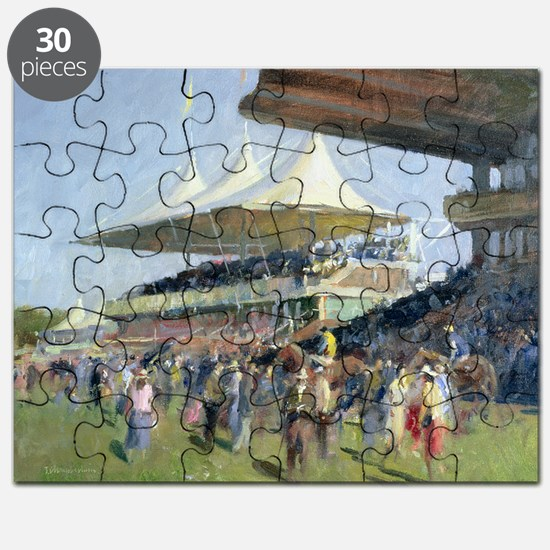 Goodwood (oil on canvas) - Puzzle