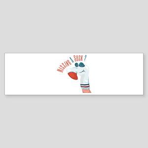 Missing A Sock? Bumper Sticker