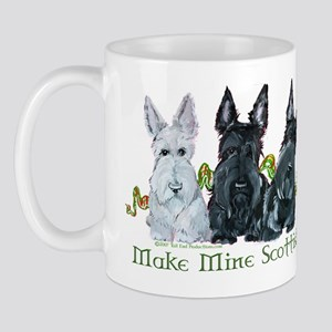 Scottish Terrier Trio Mug