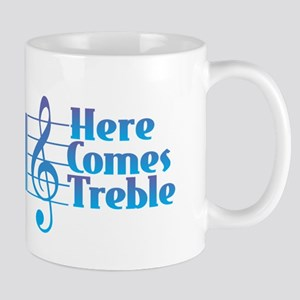 Here Comes Treble Mugs