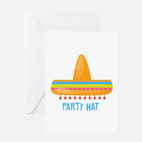 Party Hat Greeting Cards