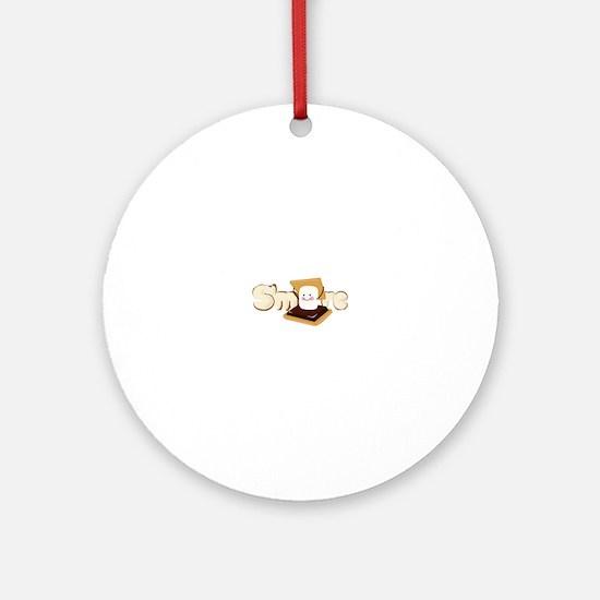 Smore Ornament (Round)