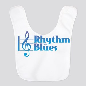 Rhythm and Blues Polyester Baby Bib