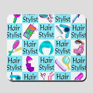 CHIC HAIR STYLIST Mousepad