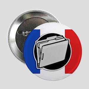 """Francophile 2.25"""" Button"""