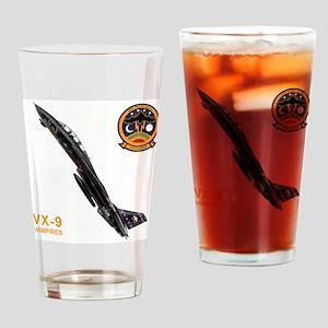 vx9logo10x10_apparel copy Drinking Glass