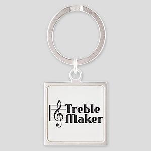 Treble Maker - Black Keychains