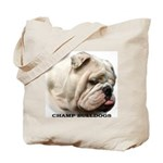 BULLDOG SMILES Tote Bag