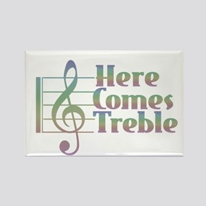 Here Comes Treble Rainbow Magnets