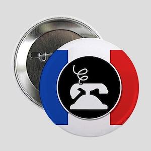 """Francophone 2.25"""" Button"""