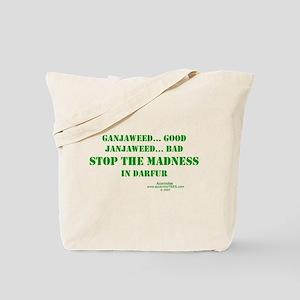 DARFUR AWARENESS Tote Bag