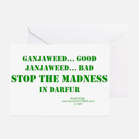 DARFUR AWARENESS Greeting Cards (Pk of 10)
