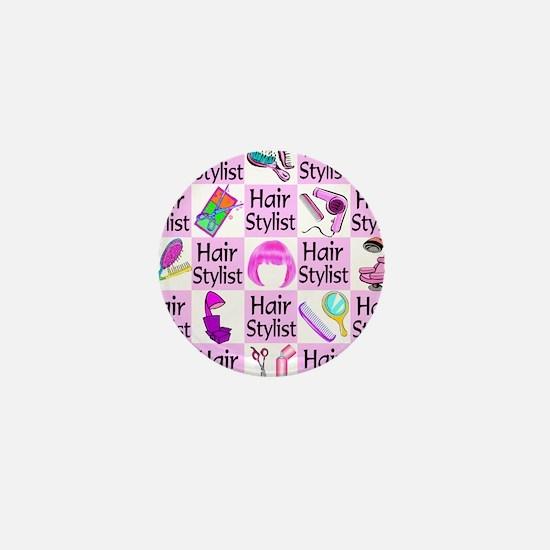 SUPER HAIR STYLIST Mini Button