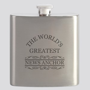 The world's greatest News Anchor Flask
