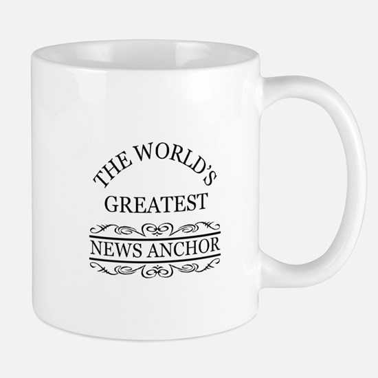 The world's greatest News Anchor Mugs