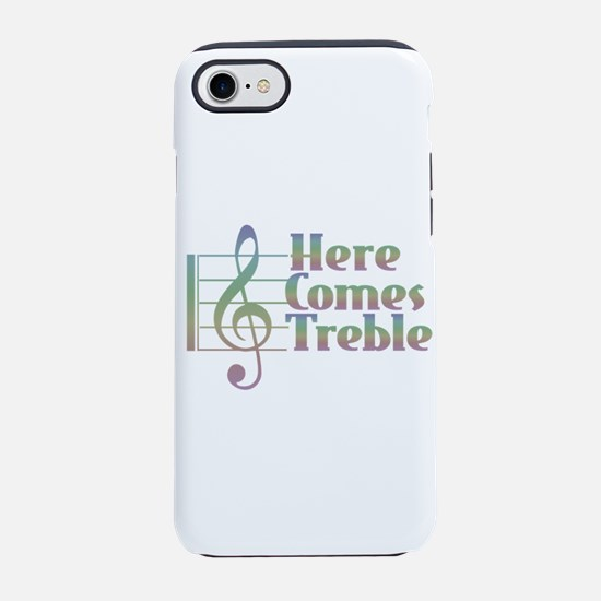 Here Comes Treble Rainbow iPhone 7 Tough Case