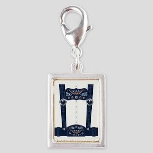 Lederhosen Costume Silver Portrait Charm