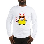 Evil Candy Corn Long Sleeve T-Shirt