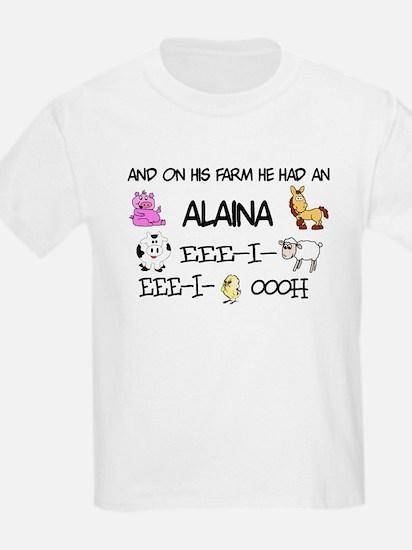 Alaina had a Farm T-Shirt