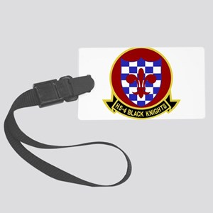 hs4_black_knights Large Luggage Tag