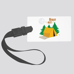 Night Out Luggage Tag