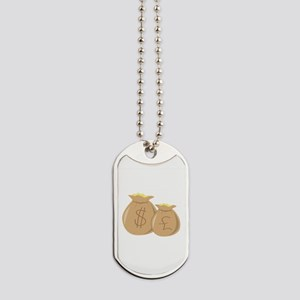 Money Bags Dog Tags