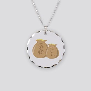 Money Bags Necklace