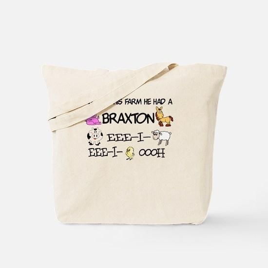 Braxton had a Farm Tote Bag