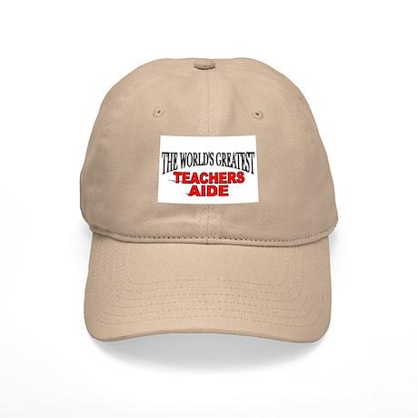 """""""The World's Greatest Teachers Aide"""" Cap"""