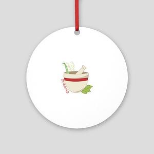 Pharmacist Ornament (Round)