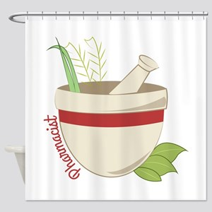 Pharmacist Shower Curtain