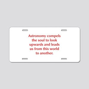 Astronomy compels the soul to look upwards and lea
