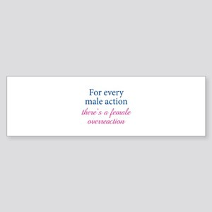 For Every Male Action Sticker (Bumper)
