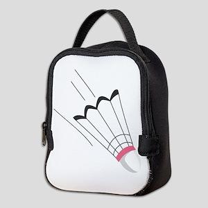 Badminton Birdie Neoprene Lunch Bag