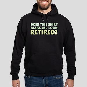 Do I Look Retired? Hoodie (dark)