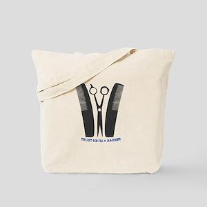 Im A Barber Tote Bag