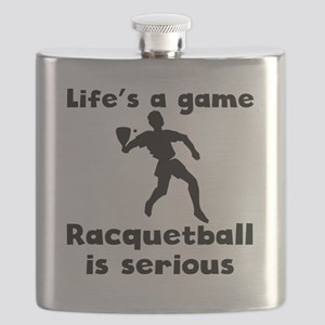 Racquetball Is Serious Flask