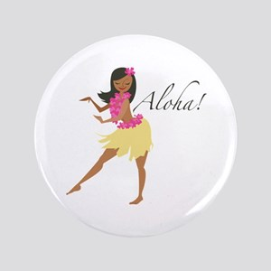 "Aloha Girl 3.5"" Button"