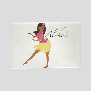 Aloha Girl Magnets