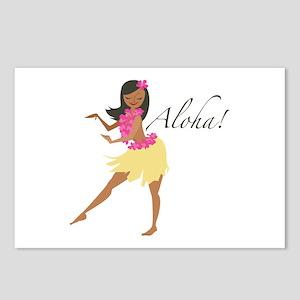 Aloha Girl Postcards (Package of 8)
