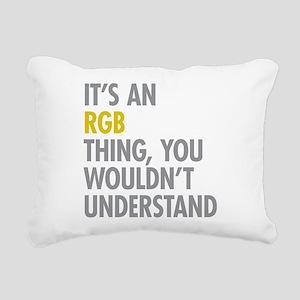 Its An RGB Thing Rectangular Canvas Pillow