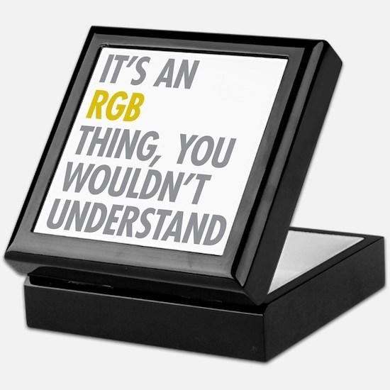 Its An RGB Thing Keepsake Box