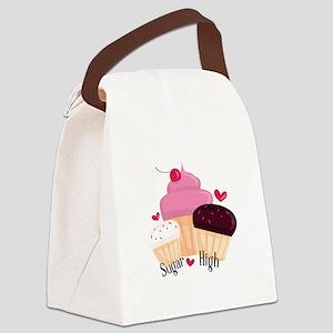 Sugar High Canvas Lunch Bag