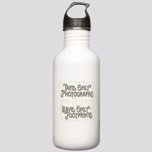 Take Only Photographs Stainless Water Bottle 1.0L