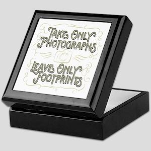 Take Only Photographs Keepsake Box