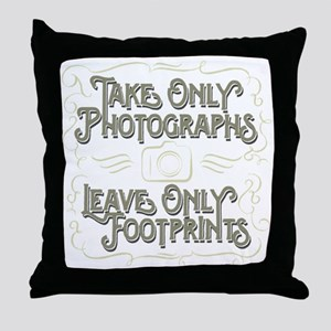 Take Only Photographs Throw Pillow