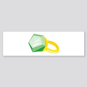 Emerald Ring Bumper Sticker